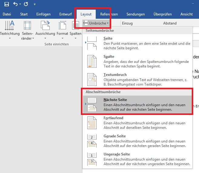 Seitennummerierung In Word Und Openoffice Formatieren Leichtgemacht