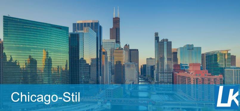 IM CHICAGO STIL ZITIEREN | Anleitung & Beispiele