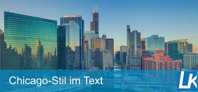 Im Text nach Chicago zitieren? Zitierweise & Beispiele