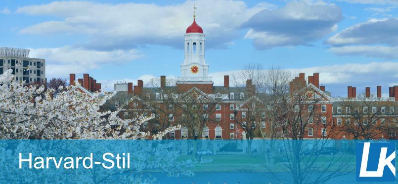 Harvard Zitierweise - Zitieren nach der Methode der Harvard Zitierweise