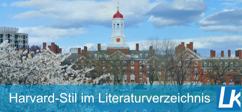 Literaturverzeichnis nach Harvard Methode