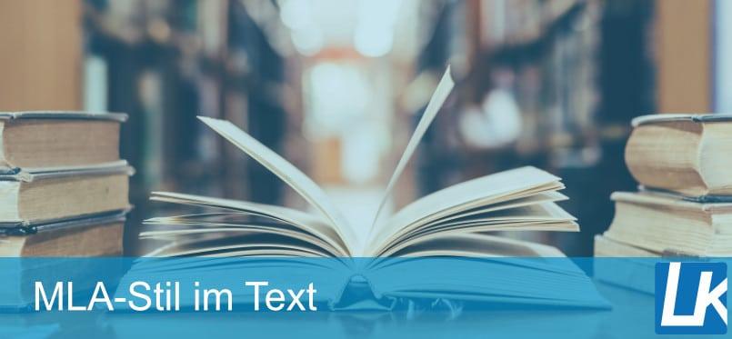 MLA IM TEXT ZITIEREN | MLA-Zitation mit Beispielen